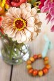 Λουλούδια της Zinnia Στοκ Φωτογραφία