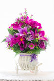 Λουλούδια υφάσματος Στοκ Εικόνες