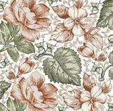 Λουλούδια. Όμορφο υπόβαθρο με λουλούδια. Στοκ Εικόνες