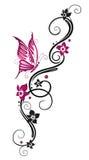 Λουλούδια, tendril ελεύθερη απεικόνιση δικαιώματος