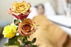Λουλούδι για τον ασθενή Στοκ εικόνα με δικαίωμα ελεύθερης χρήσης