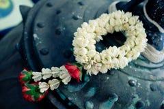 Λουλούδι γιρλαντών στο ταϊλανδικό ύφος Στοκ εικόνες με δικαίωμα ελεύθερης χρήσης
