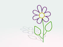 Λουλούδι γυαλιού Στοκ Φωτογραφίες