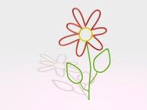Λουλούδι γυαλιού Στοκ φωτογραφία με δικαίωμα ελεύθερης χρήσης