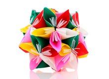 Λουλούδι εγγράφου Origami Στοκ φωτογραφία με δικαίωμα ελεύθερης χρήσης