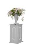 Λουλούδι και βάζο που απομονώνονται Στοκ Εικόνες