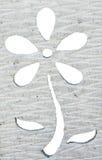Λουλούδι που διατρυπιέται Στοκ Εικόνες