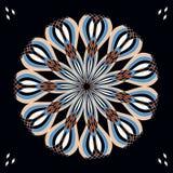 Λουλούδι του Art Deco ελεύθερη απεικόνιση δικαιώματος