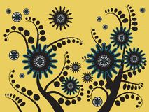 Λουλούδι 2 υποβάθρου Στοκ φωτογραφία με δικαίωμα ελεύθερης χρήσης