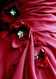 Λουλούδι Applique υφάσματος Στοκ Φωτογραφία