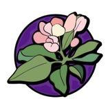 Λουλούδι clipart Στοκ εικόνες με δικαίωμα ελεύθερης χρήσης