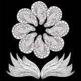Λουλούδι Doodle Στοκ Εικόνα
