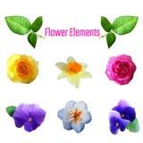 Λουλούδι element1 απεικόνιση αποθεμάτων