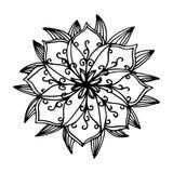 Λουλούδι Mandala Στοκ εικόνα με δικαίωμα ελεύθερης χρήσης