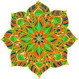 Λουλούδι Mandala Στοκ Εικόνες