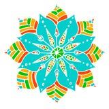 Λουλούδι Mandala Στοκ Φωτογραφίες