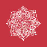 Λουλούδι Mandala Στοκ φωτογραφία με δικαίωμα ελεύθερης χρήσης