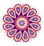Λουλούδι Mandala Στοκ εικόνες με δικαίωμα ελεύθερης χρήσης