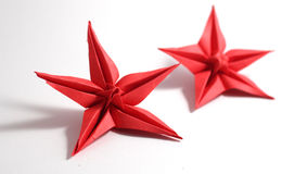 Λουλούδι Origami Στοκ εικόνες με δικαίωμα ελεύθερης χρήσης