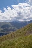 Λοφώδης έκταση των βουνών στοκ εικόνα