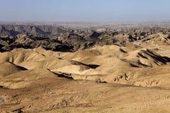 Λοφώδης έρημος στην κεντρική Ναμίμπια στοκ εικόνες