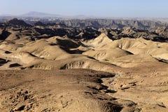 Λοφώδης έρημος στην κεντρική Ναμίμπια στοκ εικόνα