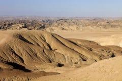 Λοφώδης έρημος στην κεντρική Ναμίμπια στοκ εικόνα με δικαίωμα ελεύθερης χρήσης