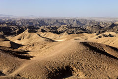 Λοφώδης έρημος στην κεντρική Ναμίμπια στοκ φωτογραφία με δικαίωμα ελεύθερης χρήσης
