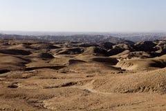 Λοφώδης έρημος στην κεντρική Ναμίμπια στοκ φωτογραφίες με δικαίωμα ελεύθερης χρήσης