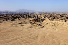Λοφώδης έρημος στην κεντρική Ναμίμπια στοκ φωτογραφίες