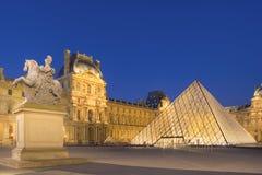 Λούβρο στο Παρίσι Στοκ φωτογραφίες με δικαίωμα ελεύθερης χρήσης