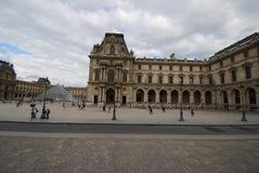 Λούβρο, Arc de Triomphe du ιπποδρόμιο, ουρανός, ορόσημο, plaza, οικοδόμηση Στοκ εικόνα με δικαίωμα ελεύθερης χρήσης