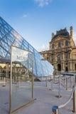 Λούβρο Museumin Παρίσι, Γαλλία Στοκ φωτογραφία με δικαίωμα ελεύθερης χρήσης