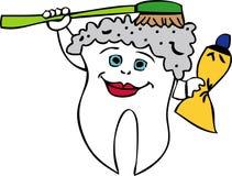 λούζοντας δόντι απεικόνιση αποθεμάτων