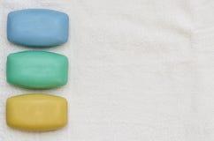 Λούζοντας 03-σαπούνια συνόλου Στοκ Φωτογραφία