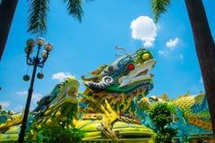 Λούνα παρκ στην πόλη του Ho Chi Minh Suoi Tien Ασία Βιετνάμ Στοκ εικόνα με δικαίωμα ελεύθερης χρήσης