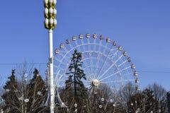 Λούνα παρκ στο κέντρο έκθεσης Στοκ Εικόνες