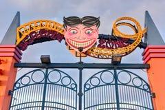 Λούνα παρκ Coney Island Στοκ εικόνα με δικαίωμα ελεύθερης χρήσης