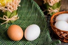 λυγαριά αυγών Πάσχας καλ&a στοκ εικόνες με δικαίωμα ελεύθερης χρήσης