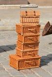 λυγαριά καλαθιών Στοκ εικόνα με δικαίωμα ελεύθερης χρήσης
