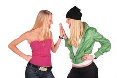 λυκίσκος ισχίων κοριτσ&io Στοκ εικόνες με δικαίωμα ελεύθερης χρήσης