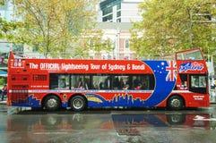Λυκίσκος-λυκίσκος-από το λεωφορείο στο Σίδνεϊ, Αυστραλία Στοκ φωτογραφία με δικαίωμα ελεύθερης χρήσης