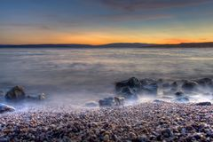 λυκόφως ηλιοβασιλέματ&omic Στοκ εικόνες με δικαίωμα ελεύθερης χρήσης