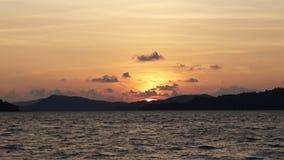 Λυκόφως και ηλιοβασίλεμα Στοκ Εικόνες
