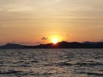 Λυκόφως και ηλιοβασίλεμα Στοκ φωτογραφίες με δικαίωμα ελεύθερης χρήσης