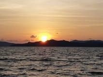 Λυκόφως και ηλιοβασίλεμα Στοκ φωτογραφία με δικαίωμα ελεύθερης χρήσης