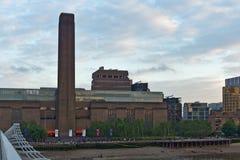 Λυκόφως στοά του Tate Modern στο Λονδίνο, Ηνωμένο Βασίλειο Στοκ Φωτογραφίες