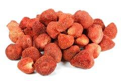 Λυοφιλοποιημένες φράουλες στοκ φωτογραφίες