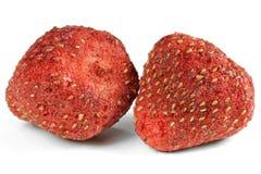 Λυοφιλοποιημένες φράουλες στοκ φωτογραφία
