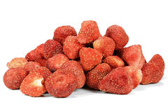 Λυοφιλοποιημένες φράουλες Στοκ φωτογραφίες με δικαίωμα ελεύθερης χρήσης